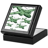 WWII Bomber Squad - USA Keepsake Box