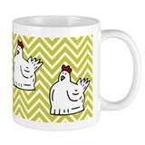 Cute Silkie chicken  Tasse