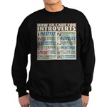 Care for Introverts Sweatshirt (dark)
