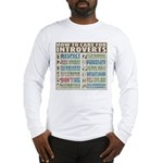 Care for Introverts Long Sleeve T-Shirt