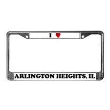 I Love Arlington Heights License Plate Frame