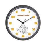 White Fiishii Wall Clock