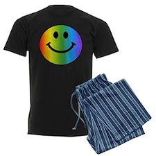 Rainbow Smiley Pajamas