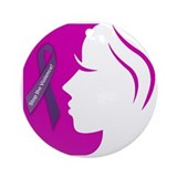 Domestic Violence 1 Ornament (Round)