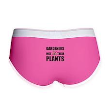 Gardeners Wet Plants Women's Boy Brief