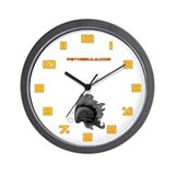 Black Fiishii Wall Clock