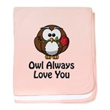 Owl Always Love You baby blanket