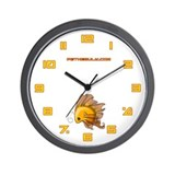 Orange Fiishii Wall Clock