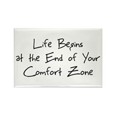 Cute Comfort zone Rectangle Magnet (10 pack)