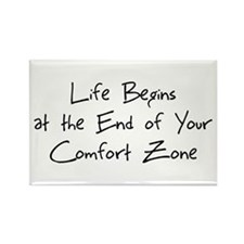 Cute Comfort quotes Rectangle Magnet