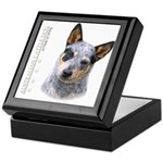 Australian Cattle Dog Keepsake Box