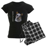 Australian Cattle Dog Women's Dark Pajamas