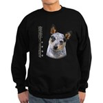 Australian Cattle Dog Sweatshirt (dark)