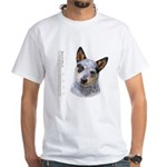 Australian Cattle Dog White T-Shirt