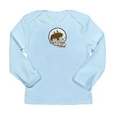 Bear's Gone Fishin' Long Sleeve Infant T-Shirt