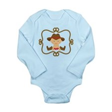 Cowboy Baby Gift Long Sleeve Infant Bodysuit