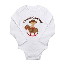 Future Cowboy Long Sleeve Infant Bodysuit