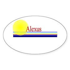 Alexus Oval Decal