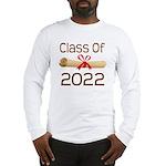 2022 School Class Diploma Long Sleeve T-Shirt