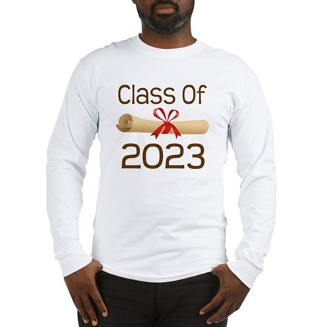 2023 School Class Diploma Long Sleeve T-Shirt
