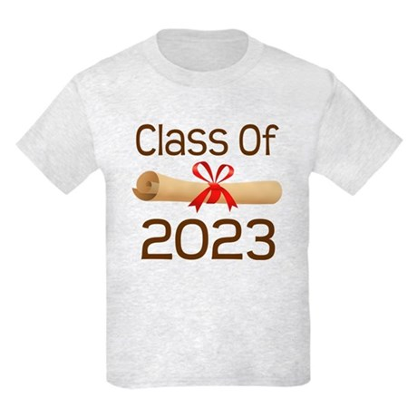 2023 School Class Diploma Kids Light T-Shirt