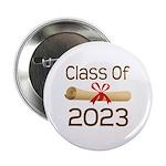 """2023 School Class Diploma 2.25"""" Button"""