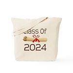 2024 School Class Diploma Tote Bag
