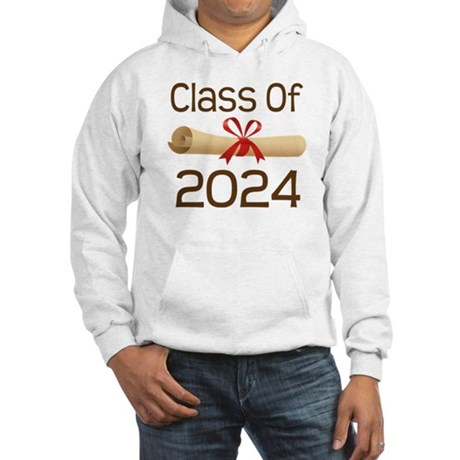 2024 School Class Diploma Hooded Sweatshirt
