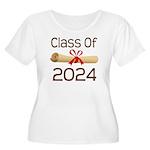 2024 School Class Diploma Women's Plus Size Scoop
