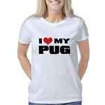 I heart Seneca Maternity Dark T-Shirt