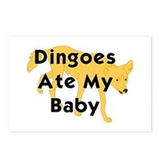 Unique Dingoes ate my baby Postcards (Package of 8)