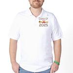 2025 School Class Diploma Golf Shirt