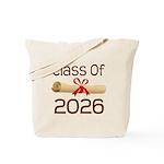 2026 School Class Diploma Tote Bag