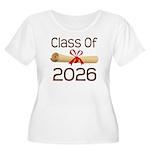 2026 School Class Diploma Women's Plus Size Scoop