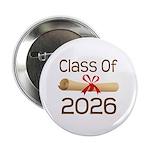 """2026 School Class Diploma 2.25"""" Button"""