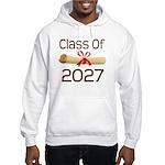 2027 School Class Diploma Hooded Sweatshirt