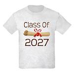 2027 School Class Diploma Kids Light T-Shirt