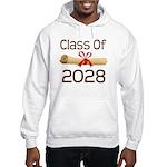 2028 School Class Diploma Hooded Sweatshirt