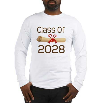 2028 School Class Diploma Long Sleeve T-Shirt