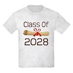 2028 School Class Diploma Kids Light T-Shirt