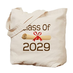 2029 School Class Diploma Tote Bag