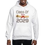 2029 School Class Diploma Hooded Sweatshirt