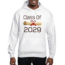 2029 School Class Diploma Hoodie