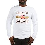 2029 School Class Diploma Long Sleeve T-Shirt