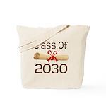 2030 School Class Diploma Tote Bag