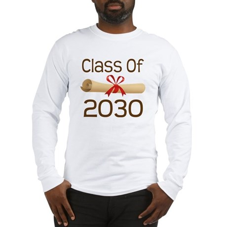 2030 School Class Diploma Long Sleeve T-Shirt