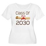 2030 School Class Diploma Women's Plus Size Scoop