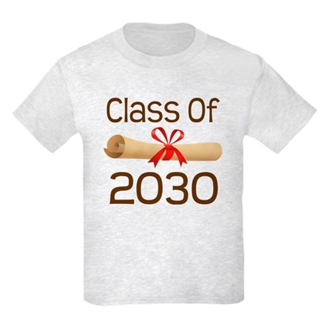 2030 School Class Diploma Kids Light T-Shirt