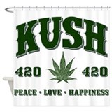 KUSH Shower Curtain