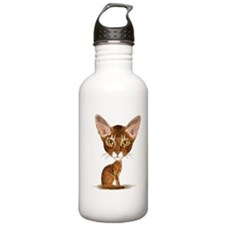 Aby Caricature Water Bottle